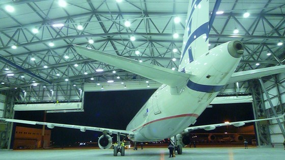 Concept Design and Supervision of Aircraft Hangar